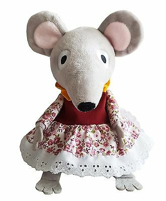 Bagpuss & Co Cozy Plush Lizzie Mouse Microwavable Teddy Heatable Bed Warmer Toy