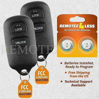 PAIR Remote for 2000 2001 2002 2003 2004 2005 2006 Toyota Tacoma Keyless Entry