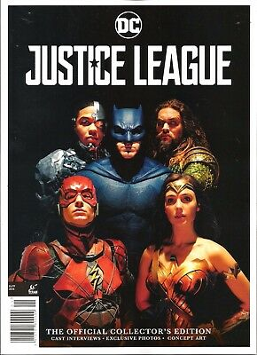 Justice League / The Official Collector's Edition / Titan Magazines / 2017 / N/m