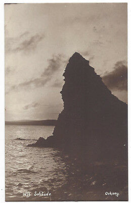 ORKNEY Solitude, RP Postcard Postally Used 1907