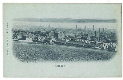 DUNDEE General view, Early Undivided Back Postcard by Valentine, Unused