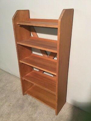 Vintage Solid Pine Bookcase Shelf Shelving Unit Storage