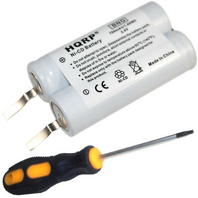HQRP Rechargeable Battery for Philips Norelco Series Razor / Shaver +Screwdriver