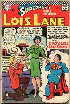Superman's Girl Friend, Lois Lane #69 - VG-