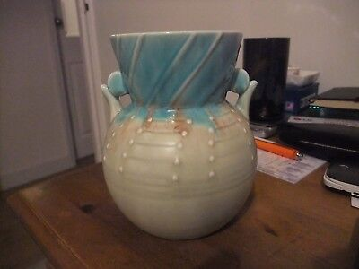 Superb Art Deco Vintage Vase 418 By Beswick Designed By Mr Symcox