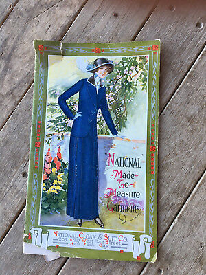 Vintage National Cloak & Suit Catalog 1913 Womens Clothes