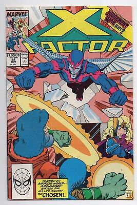 Marvel Comics X Factor #44 Copper Age