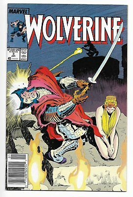FREE SHIPPING Wolverine #3 AND #6 Marvel Comics 1988 Series X-Men
