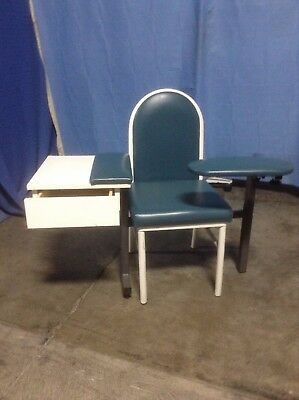 Blood Draw Chair Phlebotomy Chair Good Condition Couple Nicks