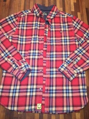 NEXT Boys check Shirt Age 9 IMMACULATE
