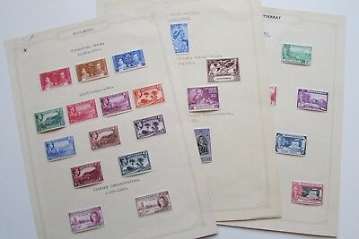 XL2711: Collection of Montserrat Stamps (1937 - 1951)