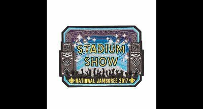 2017 Boy Scout Official National Jamboree Stadium Show Patch Emblem Donald Trump
