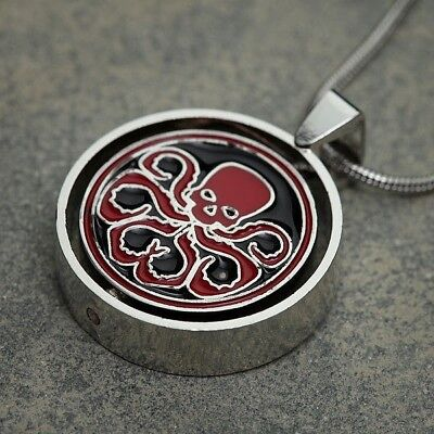 Marvel Comics Agents of Shield S.H.I.E.L.D. vs Hydra Allegiance Pendant Necklace