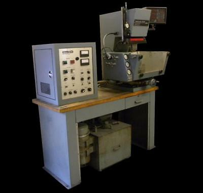 Hansvedt Sm-150B Electrical Discharge Machine Edm Bench Top - Magnetic Chuck