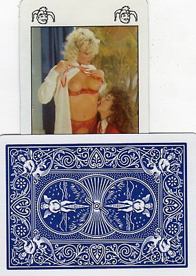 "RARE MINT ""2 Sexy Ladies"" JOKER Playing Card #691"