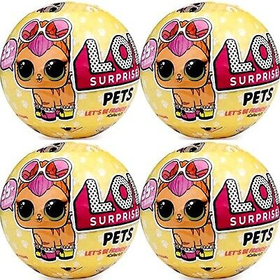 Set of 4 LOL Surprise Pets Series 3 by MGA Free Shipping