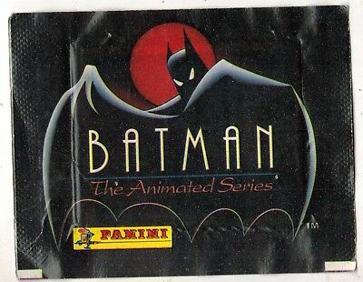 Italy 1993 Panini batman the animated series sticker pack