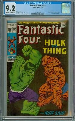 Fantastic Four #112 - CGC Graded 9.2