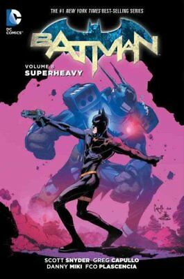 Batman TP Vol 8 Superheavy by Greg Capullo 9781401266301 (Paperback, 2016)