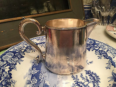 RARE ANTIQUE Bruno Wiskemann Belgian silver plated antique creamer EARLY
