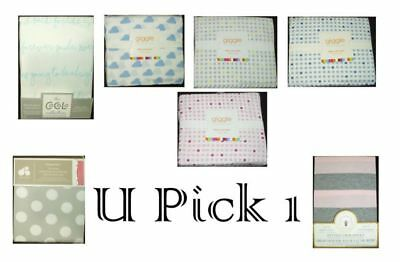 Baby Crib Sheets Bed Fitted Boys Girls Neutral Toddler Mattresses Cotton sheet