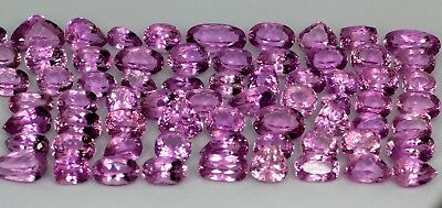 1000 Cts 85 PIECES Natural Pink Patroke Kunzite Gemstone Lot Buy Now
