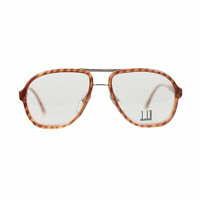 Authentic DUNHILL Vintage Aviator Optyl Eyeglasses 6077 11 56mm New Old Stock