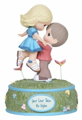 Precious Moments Music Box Doll Gift Your Love Takes Me Higher 133100 NIB Retire