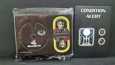 Star Trek Attack Wing  CORBOMITE MANEUVER OP Prize I.R.W.Rateg & CONDITION ALERT