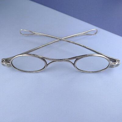 French Georgian Sterling Silver Glasses / Antique Spectacles