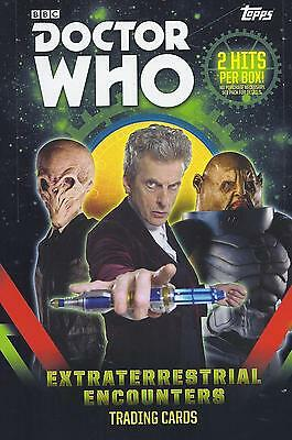 2016 Doctor Who Extraterrestrial Encounters ... Complete 100 Card Set + Wrapper