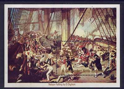 St Christopher Nevis Anguilla 397-401 MNH Lord Nelson, Ship