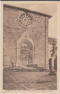 Amatrice Rieti Chiesa Di San Francesco D'assisi 1925 Bella !