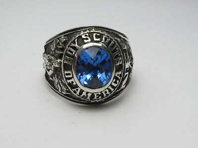 Iu126 , Ring , The  United States , Us , Boy Scouts America  , Bsa  , Size 10.75