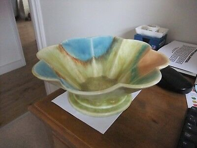 Wonderful Art Deco Dripware Bowl 99 By Beswick