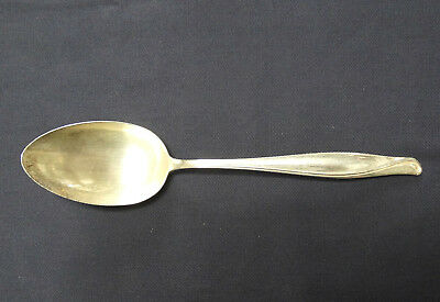 "Alvin Sterling Spring Bud, Tablespoon, 8-1/2"", No Monos. Excellent"
