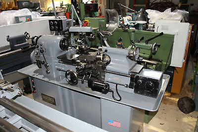 "Hardinge HLV-H Lathe 11"" x 18"" - Loaded with Tooling"