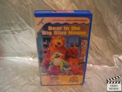 BEAR IN THE Big Blue House - Fun With Friends (VHS, 1998)