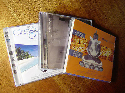 CD Lot: Ambient / Electronic / Chillout, 2000s, 4 discs, Various Artists