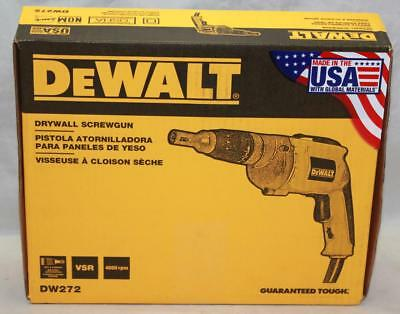 Dewalt 4000 RPM Variable Speed Reversible Drywall Screw gun DW272 - Brand New