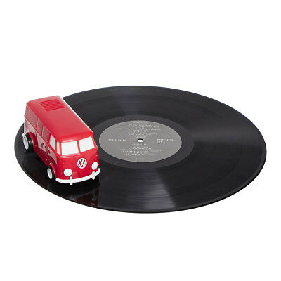 Record Runner - World's Smallest Portable Record Player (V2.0) Cherry Red