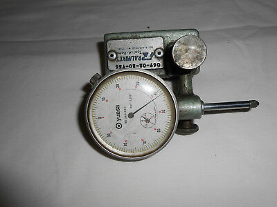 vintage machinest indicator and magnetic stand,lathe ,mill