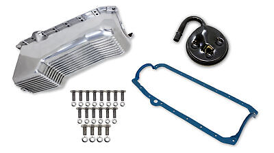 Weiand 6502FWND Weiand Aluminum Oil Pan Kit