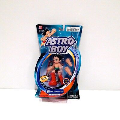 Astro Boy Arm Cannon Toy NOS New in Box Bandai Action Figure 2004 Cartoon Age 4+