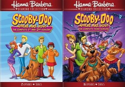 SCOOBY-DOO WHERE ARE YOU COMPLETE SERIES New Sealed DVD Seasons 1 2 3