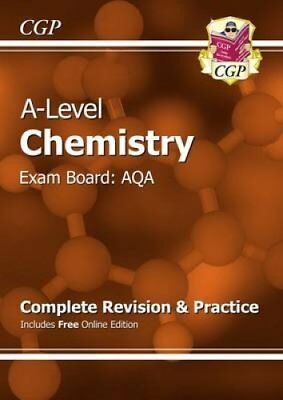 New A-Level Chemistry: AQA Year 1 & 2 Complete Revision & Pract... 9781782943006
