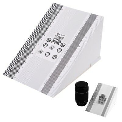 Camera Lens Focus Calibration Card AF Folding Chart Micro Alignment Ruler