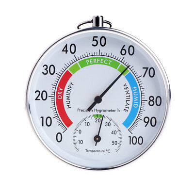 100mm Hanging Temperature Humidity Monitor Meter Gauge Thermometer Hygrometer