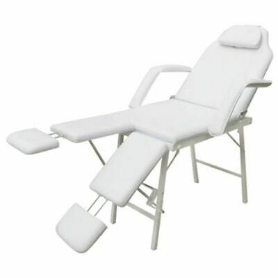 vidaXL Kosmetikstuhl Kosmetikliege Massageliege Massagebank Massagetisch Set 1