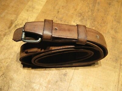 Marine Chronometer Leather Belt W Buckle For Ship Deck Watch Outer Carrying Box